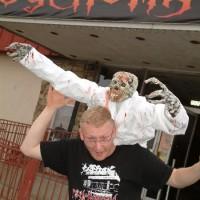 Zombie nurse attack