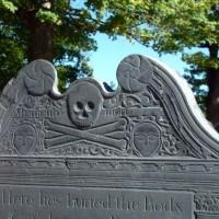 Ornate Flying Death Head