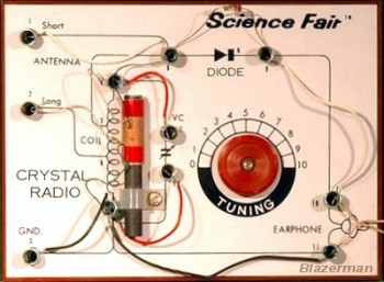 Crystal Radio Close-up