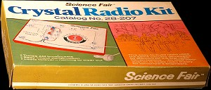 Science Fair Crystal Radio Kit