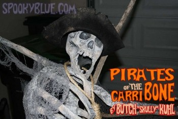 Butch Kuhl - Pirate Skeleton