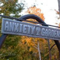 Anxiety Gardens Cemetery at Spooky Hollow