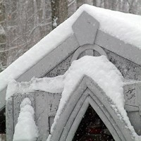 Mausoleum in The Snow