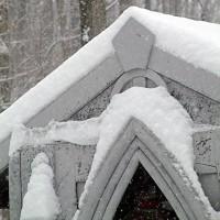 Mausoleum in The Snow