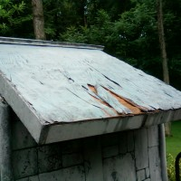 Destroyed Roof