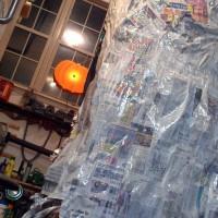 Paper Mache 101 - Miles of strip mache
