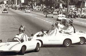 Shriners in corvettes