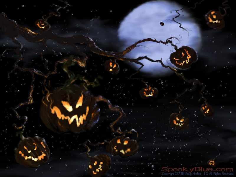 spookyblue.com » The Halloween Tree Revisited